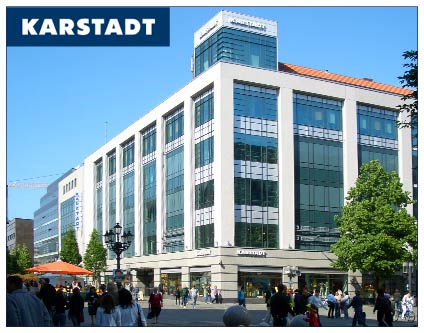 karstadt warenhaus stoffe kurzwaren shopping berlin. Black Bedroom Furniture Sets. Home Design Ideas